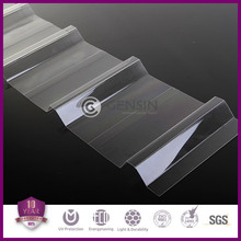 DIY Plastic Roof Covering Corrugated Polycarbonate Sheet Long Service Life