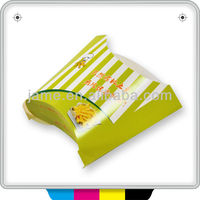 2014 Take away food paper custom recycled packing boxes