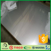 Factory price 316 2b finish stainless steel plate chart