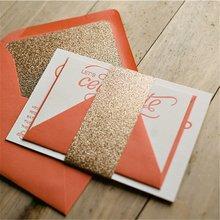 matte paper weeding glass lastest invitation cards models