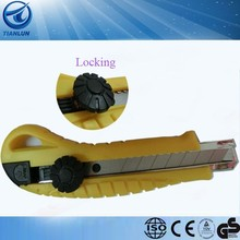 The hot sales locking utility knife/paper craft knife