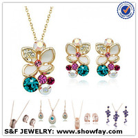 75623-85036 restore ancient ways flower gold jewelry fashion accessories