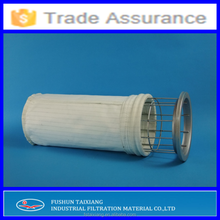 Long useful life antistatic polyester felt dust collector filter bag