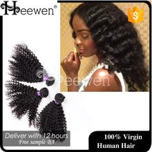 2015 New Arrival Mongolian Human Hair,Deep Wave Human Hair For Braiding,Crochet Hair Extension