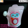 Reusable Food stand spout Pouch for Kids or Baby / Squeezable and Refillable Food Pouches
