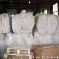 High quality plastic rolls clear ldpe film scrap