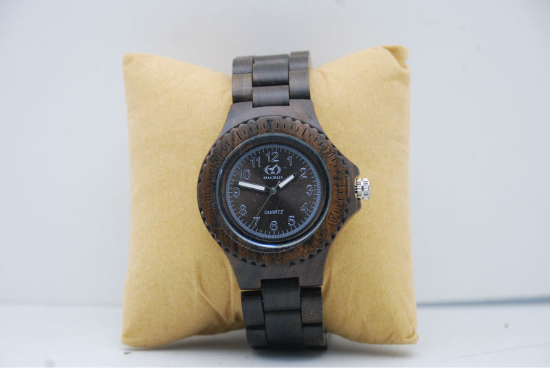 Popular Real Wooden Watches Men, Classical Bamboo Watches For Men And Women