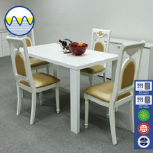 Wholesale 2015 customized hot sale four seats dinning table and chairs