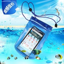 2015 Newest 1Pc Clear Waterproof Pouch Bag Dry Case Cover For All Cell Phone Camera Mobile phone waterproof bag