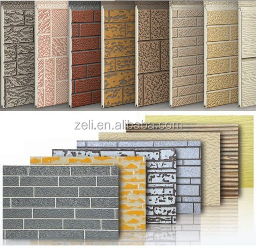 metal decorative insulation panel pu exterior wall panel. Black Bedroom Furniture Sets. Home Design Ideas