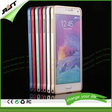 Hot Selling for Samsung galaxy note Titanium Alloy bumper case for note 4