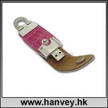 Hot sale promotional,custom,brand leather usb flash drive 8GB with data ,printing logo service