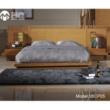 Model:08CP05 European style simple design solid bamboo modern bedroom furniture set
