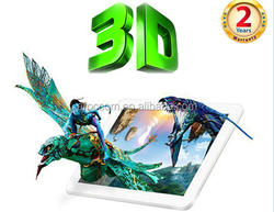 3d mobile phone 7 inch 3d tablet android 4.4 glasses free tablet pc