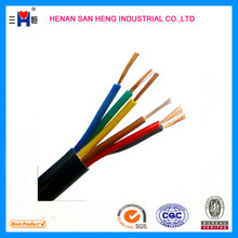 H03VV-F 18 gauge pvc insulated control cable ground wire