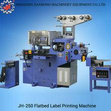 JH-250 Trademark Label Printing Machine made in China