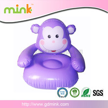 Cheap carton children inflatable chair sofa cute design for sale