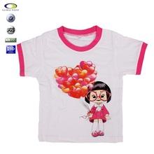 Short sleeve brand cotton wholesale imports cotton fancy kids t-shirt