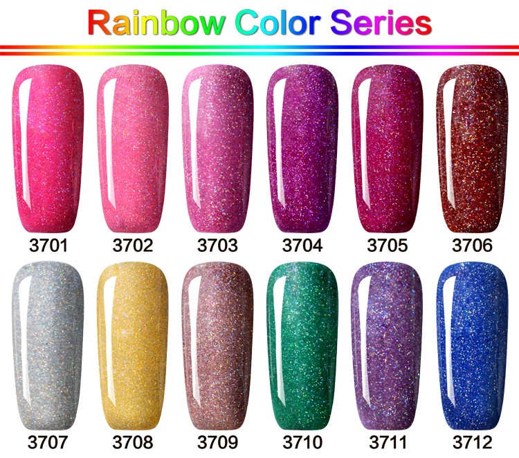 Wholesale GelArtist Brand Nail Gel Polish Rainbow UV Color Gel