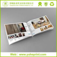 Free Design Hot Sale Fashional Custom Products Printing Embossing/Varnishing/3D Film Lamination/Hot Stamping Sample Catalogue