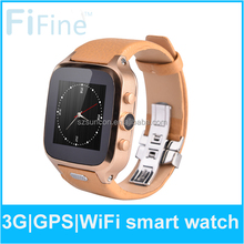 2015 Newest Bluetooth Smart Watch W9 Waterproof MTK6572 1+8G 3G GSM Smart Watches