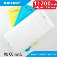Fashion appearance portable power bank 11200 mah battery charge,best selling products