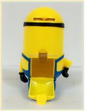 Wholesale kids birthday gifts plastic money boxes from despicable me