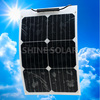 small Size and Monocrystalline Silicon Material semi flexible solar panel 25w