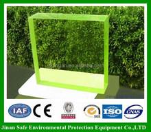 1000*1600*10mm x-ray shielding lead glass