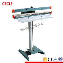 Simple operation heat pedal sealer