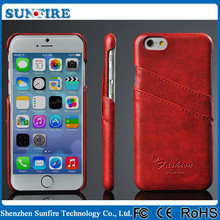 Phone case for iphone 6, Leather case for iphone 6 , Card holder leather back cover case