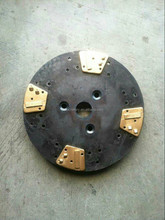 PCD grinding disc polishing pad for floor coating removal