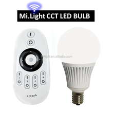 Warm/cool White +rgb color changing milight 5w AC86-265V 2.4G Wireless LED Bulb Lamp Light+ 4-zone Remote + WIfi