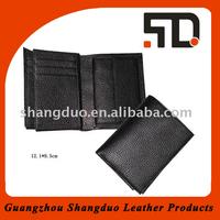 Unique Design Quality Genuine Leather 2011 Card Holder for Mens