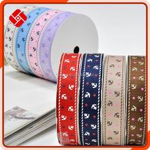 Hot Sale 25mm Ribbing Ribbon Bow For Garment