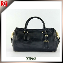popular lady cowhide leather shoulder bags affordable handbags