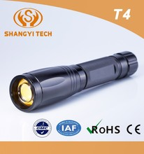 Waterproof tactical switch XML2 U2 led zoom flashlight with 3c batteries