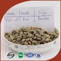 Yunnan Green Coffee Beans 100% Original High Quality Green Slimming green coffee bean