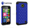 2015 Best Selling for rhinestone mobile cover for Nokia 630/635