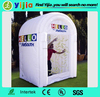 Hot sale durable inflatable products 6x5x9ft inflatable cash cubes