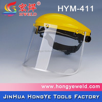 Top quality protective head-cover clear face shield