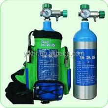 0.7l~40l bombola di ossigeno portatile per la prima- aiuti e medico ossigeno dispositivo