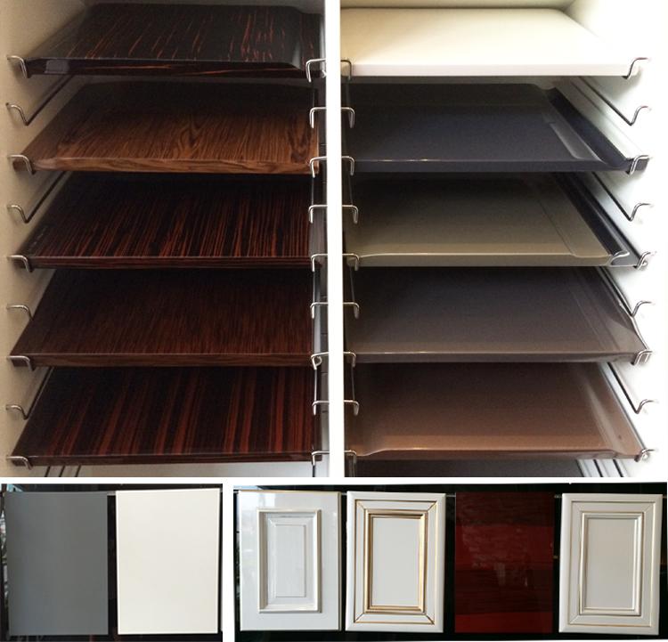 Ak1568 Cheap Mauritius Kitchen Cabinet Melamine Faced