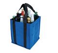 material ecológico reciclable bolsa portador del vino