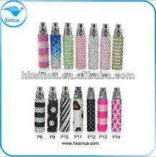 Most popular fashion e cigarette Bling Diamond design diamond ego battery