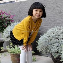OEM girls cashmere cardigan sweater child wear