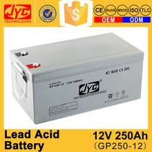 luxury quality sealed lead acid 12v 250ah wholesale batteries