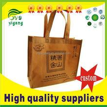 Contemporary new coming printed pink non woven shopping bag
