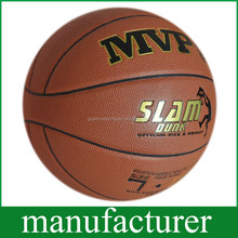 GY-D064 Imported leather Durable PU Soft Touch size7 Basketball Absorb Sweat Leather customized
