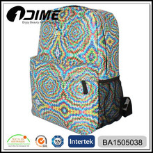Fashion Digital Printed Waterproof Backpack Bag For High School Student